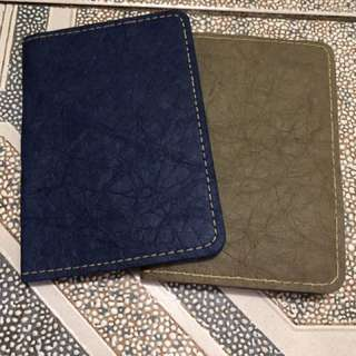 Eco-friendly passport holder