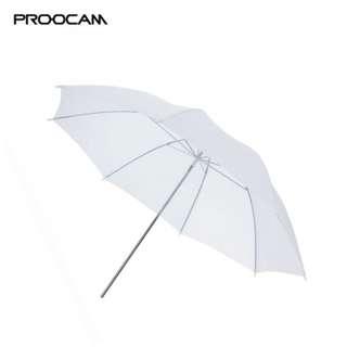 Proocam UM-WH White Translucent Photo Studio Soft Umbrella - 95cm