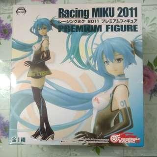 Racing MIKU 2011 Premium Figure 初音 模型