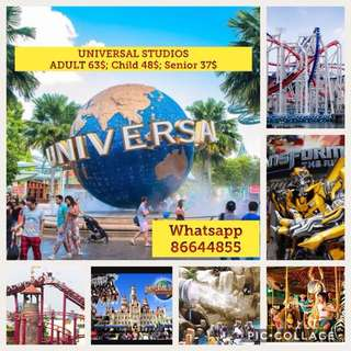 Cheapest universal Adult tickets