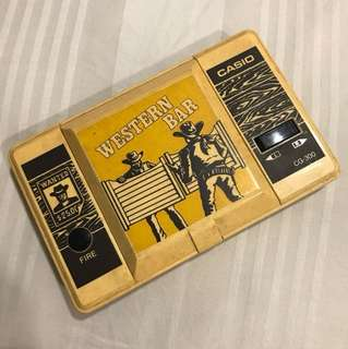 Western Bar handheld game