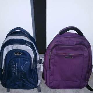 Good condition Backpack haversack for School work  tour