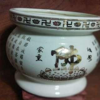 Porcelain Incense Urn FOC *Reserved*