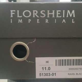 Florsheim Imperial Ravel Cap Black Shoes