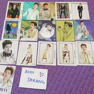 INFINITE SUNGYEOL PHOTOCARD SET