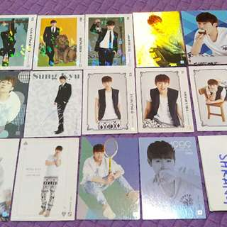 INFINITE SUNGGYU PHOTOCARD SET