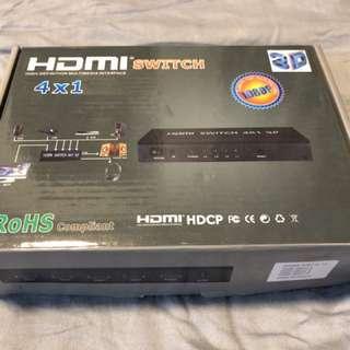 HDMI switch 4x1