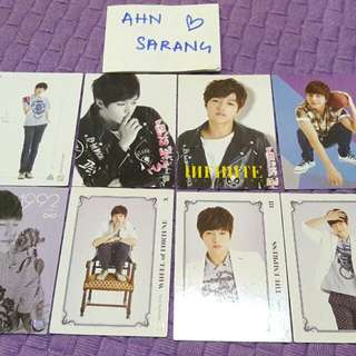 INFINITE L MYUNGSOO PHOTOCARD SET