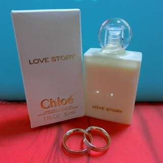 Chloe Love Story Perfumed Body Lotion (Brand New)