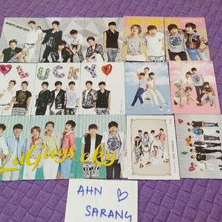 INFINITE GROUP PHOTOCARD SET