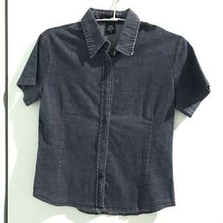 Jill & Scott Dark denim shirt