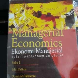 Buku Ekonomi Manajerial Jilid 1 (terjemahan)