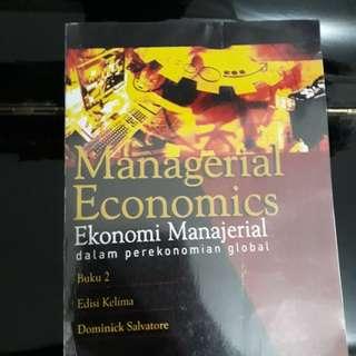Buku Ekonomi Manajerial Jilid 2 (terjemahan)