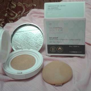The Face Shop Oil Control Water Cushion