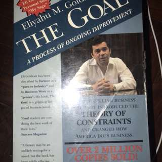 Eliyahu M. Goldratt and Jeff Cox's The Goal: A Process of Ongoing Improvement