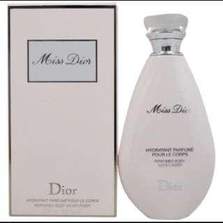 BNIB Miss Dior Body Scented Lotion