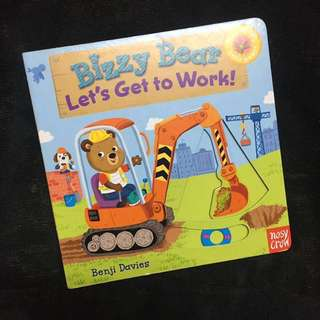 Bossy Bear - Let's Get To Work (board book, toddler book, children book)