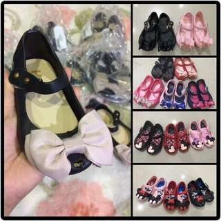 Jelly shoes kid