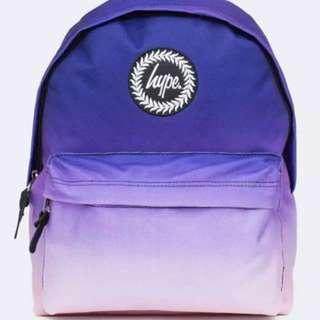 紫色漸變💜Hype 書包🎒中學生大愛