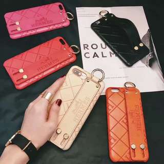 Hermes leather iphone case