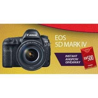 NEW Canon EOS 5D Mark IV Body (Canon Malaysia)