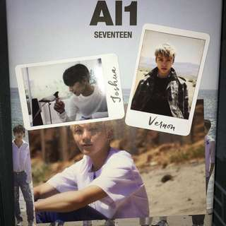 Seventeen Al1專輯內容物