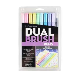 Tombow Dual Brush Pen Pastel Set