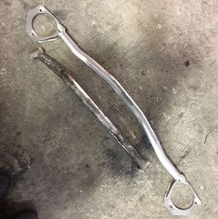 Subaru Legacy front bar and rear lower bar