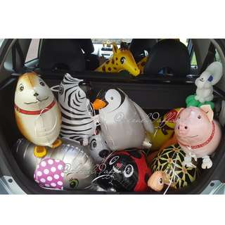 INSTOCK: ANIMAL PET WALKER HELIUM BALLOON