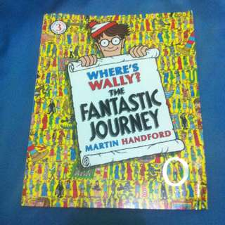 Wheres Wally Book 3 - The Fantastic Journey - Minus