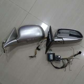 Mitsubishi and Proton side mirrors (old school)