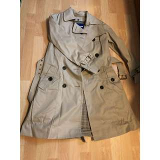 Burberry blue label Long trench coat