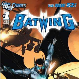 Batwing #1-7, 11-16 (New 52)