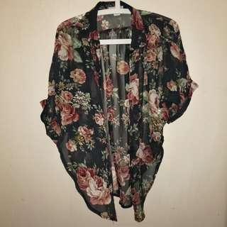 Cotton On Floral Shirt/Outerwear