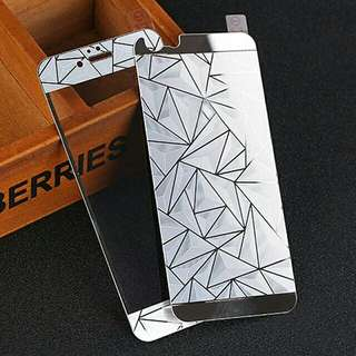 3D Diamond Electroplated Tempered Glass Front