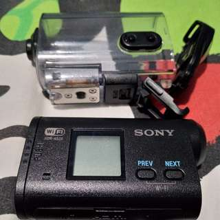 Sony action cam hdras20