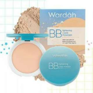 Wardah bb lightening cake powder light 01