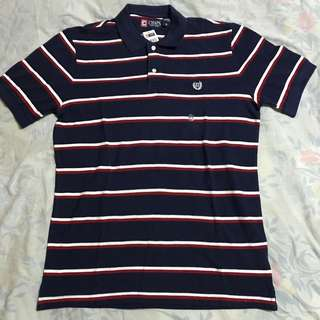 Chaps Men's Navy Blue Polo Shirt (Size: M)