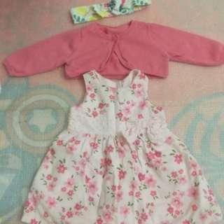 Mothercare floral set