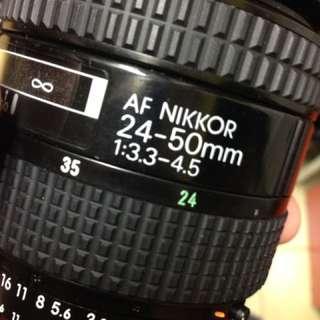 Nikon 24 50mm af ais len