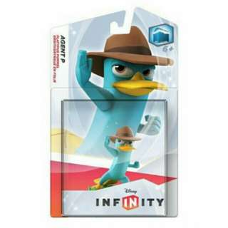 Disney Infinity Phineas And Fers  Agent Figure