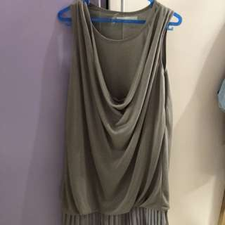 Magnolia elegant grey dress