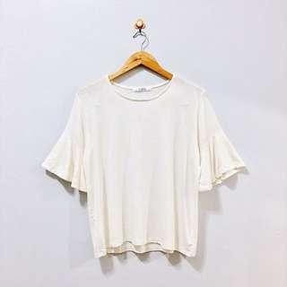White Bell-sleeve