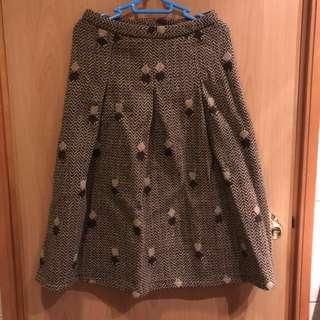 日本古著vintage 冬季半身裙