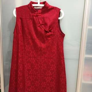 Cheongsam for prenancy mummy