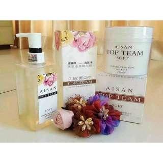 Aisan Top Team Shampoo & Hair Mask