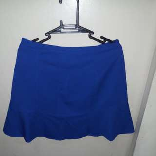 Plain Blue Skirt-FREE SHIPPING