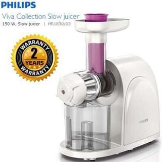 Philips Viva Collection Slow Juicer (HR1830/03)