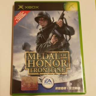 Xbox : 榮譽勳章: 反攻前線 Medal Of Honor Frontline