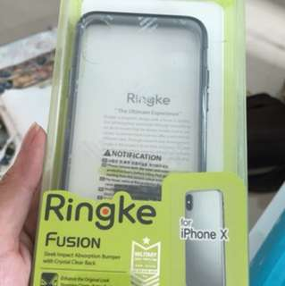 NEW Ringke Fusion case for iphone x